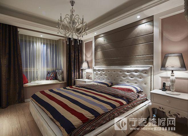 新中式风格四合院设计 卧室装修效果图