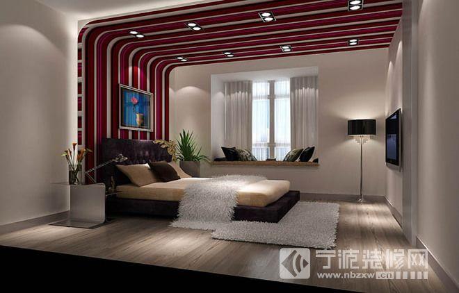 欧式古典奢华三居室设计图 卧室装修图片