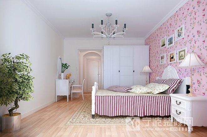 田园风格90平米二居设计案例 卧室装修效果图 -田园风格90平米二居设