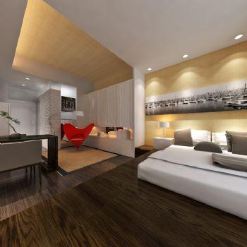 现代风格一居室设计效果图