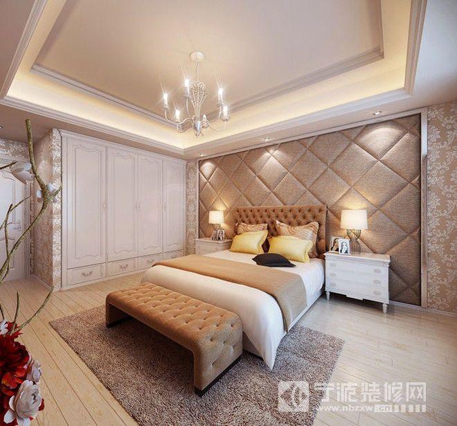160平简欧风格四居设计图片 卧室装修效果图
