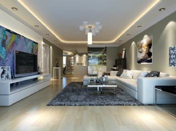 60平米现代风格一居室设计