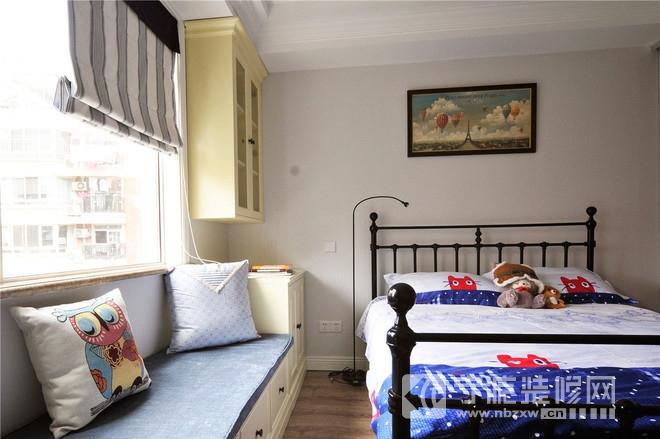 95平小清新装修案例欣赏 卧室装修效果图