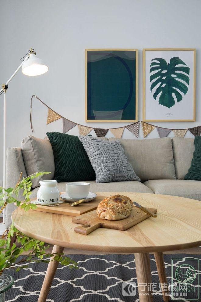 小清新北欧风格设计赏析 客厅装修图片