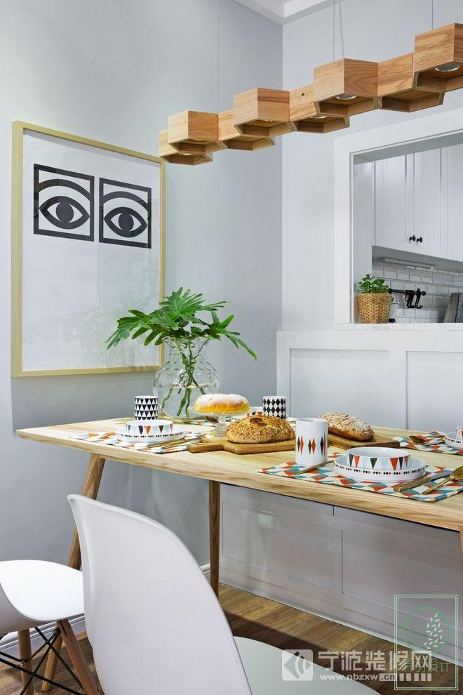 小清新北欧风格设计赏析 餐厅装修图片