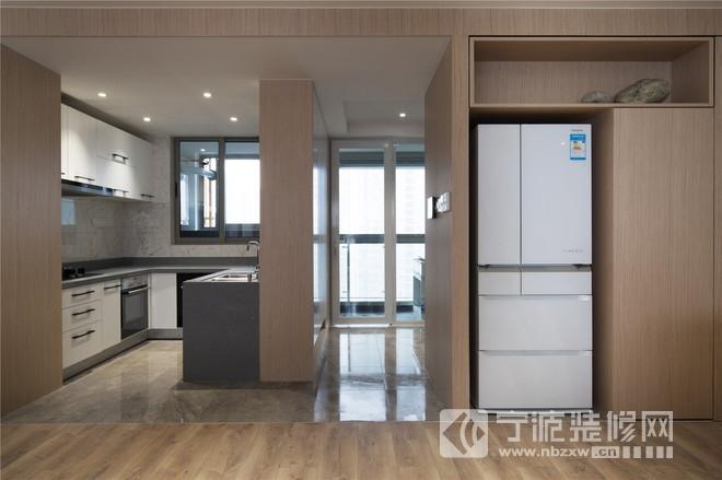 小清新日式风格装修案例 厨房装修图片