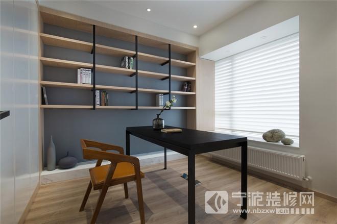 小清新日式风格装修案例 书房装修图片