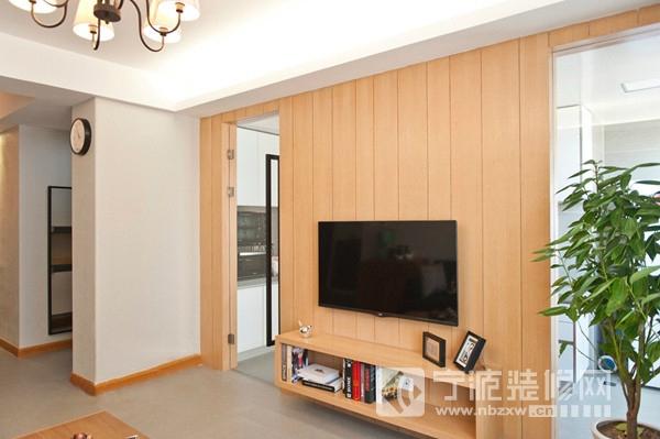 95平米简约风两室两厅装修效果图 客厅装修图片 -95平米简约风两室两