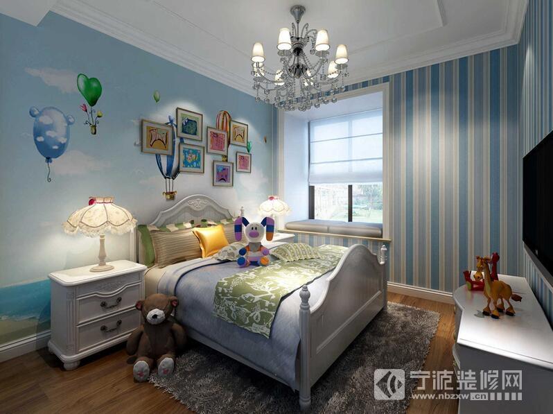 青林湾8期大平层 儿童房装修效果图 -青林湾8期大平层 儿童房装修图片