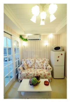 50平小户型田园温馨一居室案例