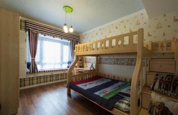 美式风儿童房装修图片