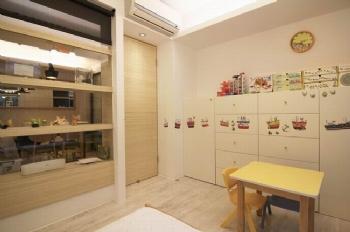 中海玫瑰园现代儿童房