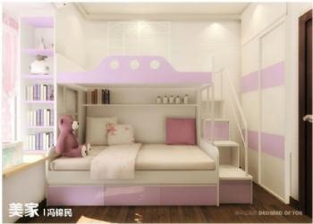 不同客户的案例欣赏现代儿童房