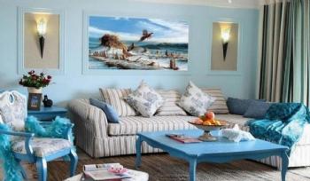 106平米地中海式三室欣赏