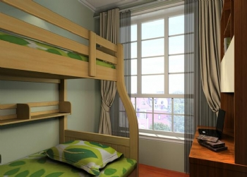 现代风儿童房装修图片