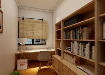 现代风书房图片