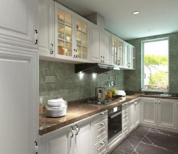 现代风厨房装修图片