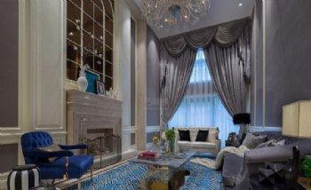 360平新古典风4室2厅2卫设计作品