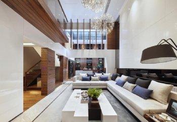 433平米现代保利别墅设计