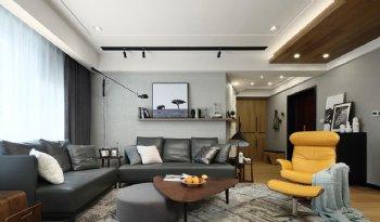 218平米现代四居装修案例