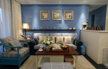 碧海蓝天 自然清晰四居室地中海案例欣赏