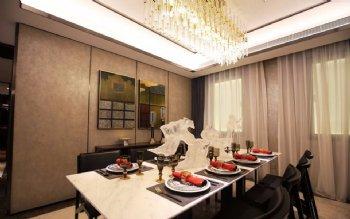 海外滩新古典豪华风古典餐厅