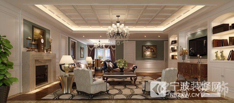 宁兴城市广场客厅、卧室效果图