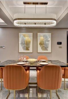 奉化中央花园4室2厅3卫现代餐厅