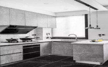 黑白灰简约厨房