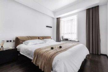 黑白灰简约卧室