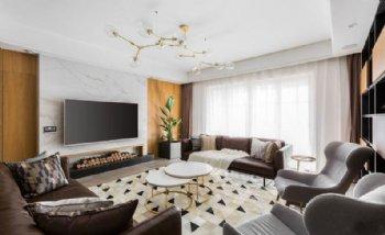 原木色自然简美 三居室的时尚设计