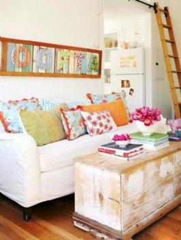 时尚公寓设计 田园风格色彩亮丽