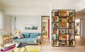 90平合生国际装修 三居室简约设计