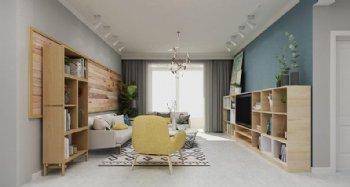 世纪花园三居室 126平清和北欧风格