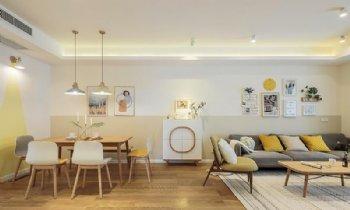 120平五和苑三居室北欧风格