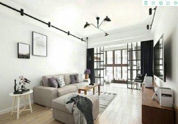 三居室纯净北欧 146平住宅装修