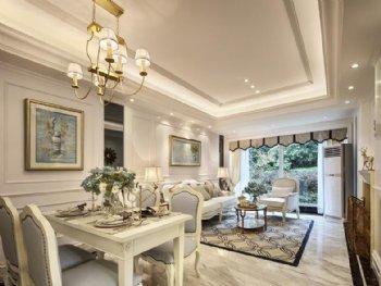 二居室欧式风格 85平米保利城一期