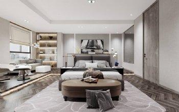 御豪名邸现代卧室