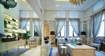 200平保利设计 徜徉在清新地中海之家