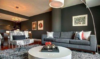 格兰星辰两居装修 98平米现代经典风
