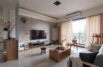 世纪城两居装修 素调90平米简约设计