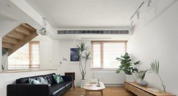150平北欧设计 跃层空间里的清新与舒适