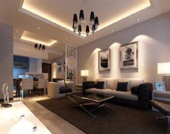 96平方现代风格 两居室里的安稳