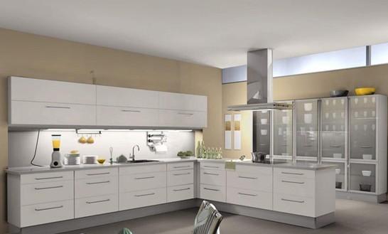 不锈钢整体橱柜,不锈钢台面,不锈钢水 2007室内效果图 实