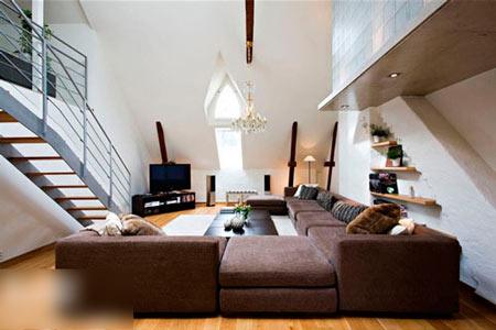 客厅卧室一体装修设计的优点