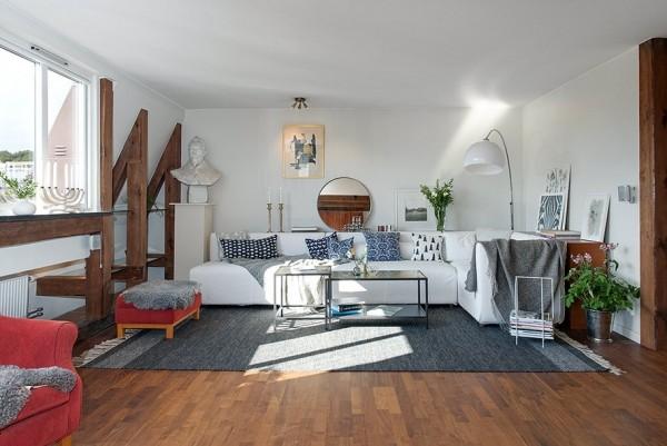 82平米超浪漫清新瑞典公寓