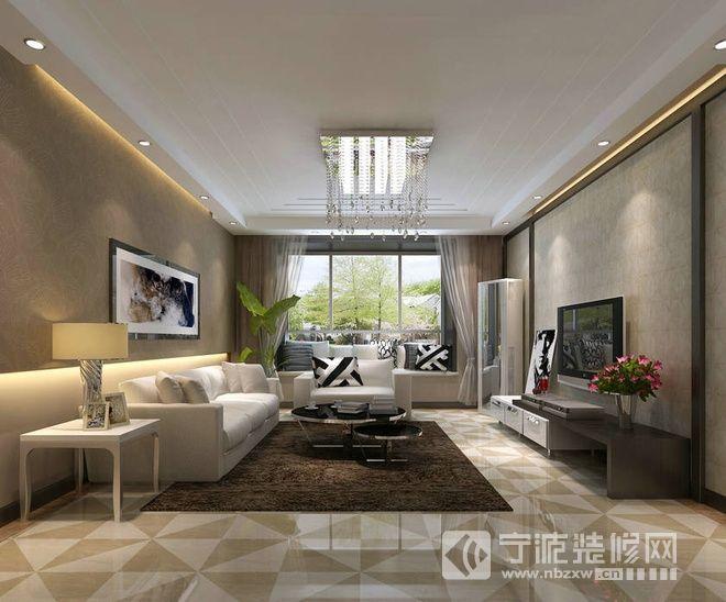 150平米现代经典黑白搭配家居