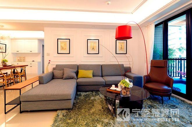 138平米主题鲜明新古典三居