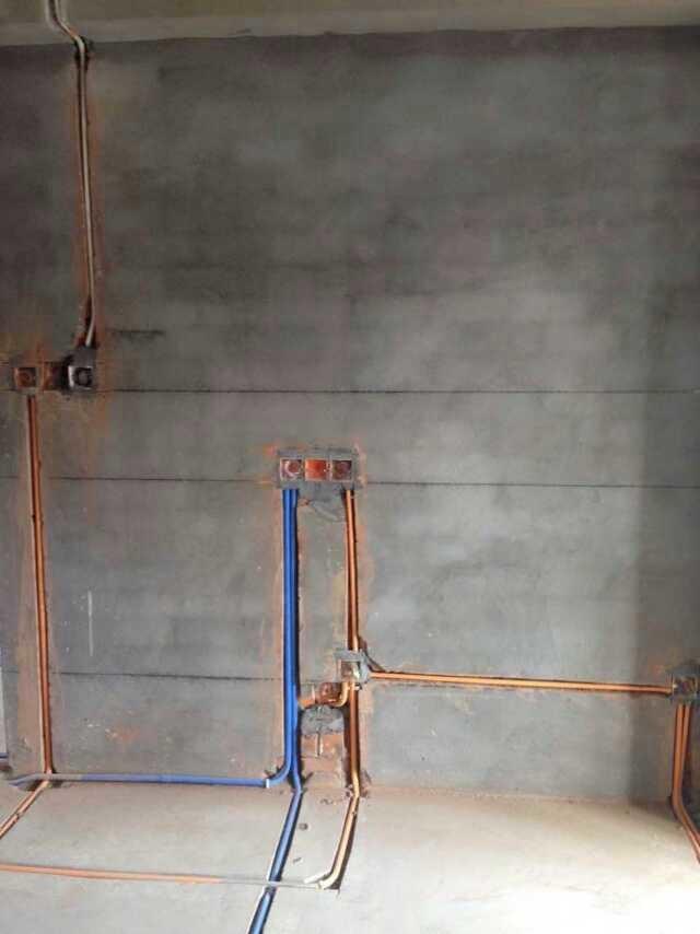 宁波装修网实拍水电施工现场高清图片