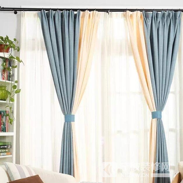窗帘拼接,让家上升一个格调